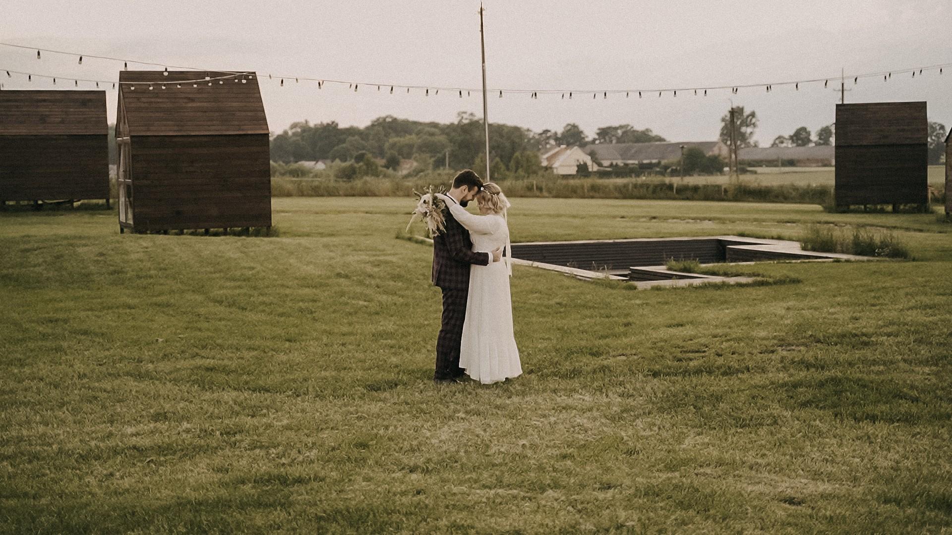 Plener ślubny pary młodej w Folwarku Ruchenka
